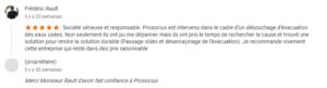 avis Mr Rault google Prosocius Assainissement