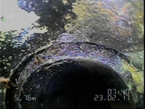 vidéo canalisation caméra