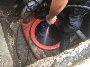 photo nettoyage entretien pompe de relevage