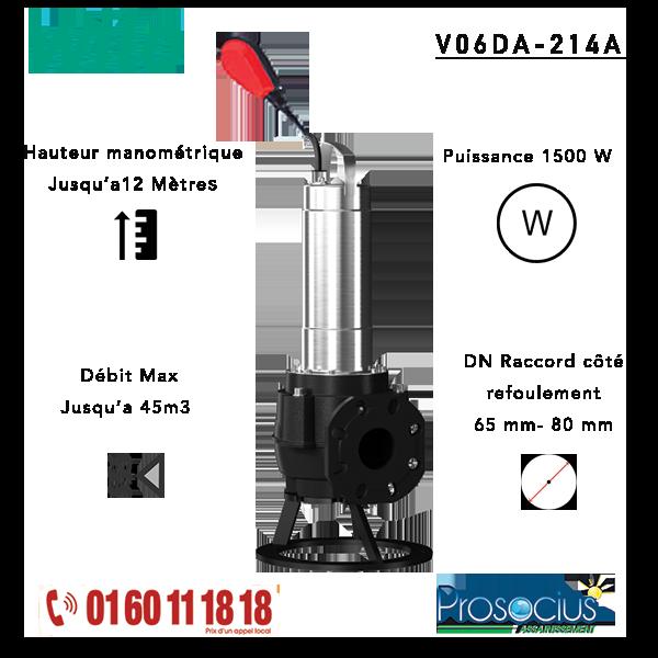 Pompe de Relevage WILO FIT V06DA-214