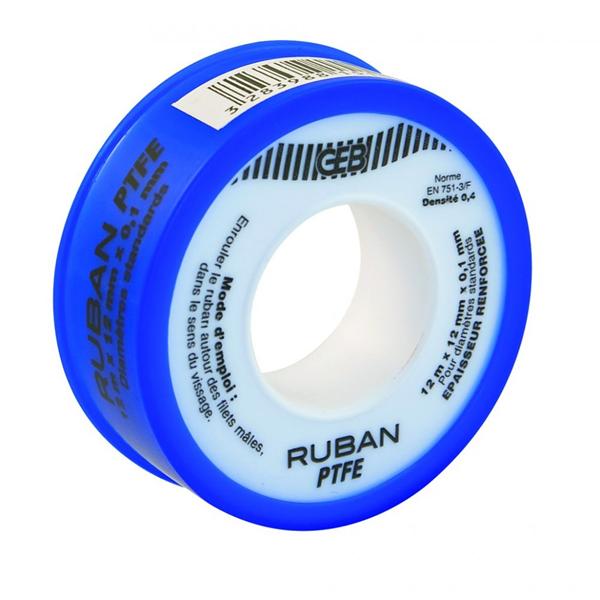 RUBAN TEFLON LARG 12MM-12M