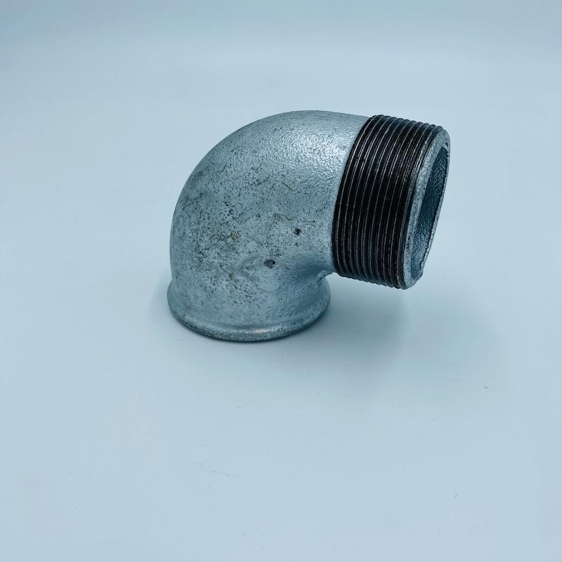 Coude galvanisé diamètre 50