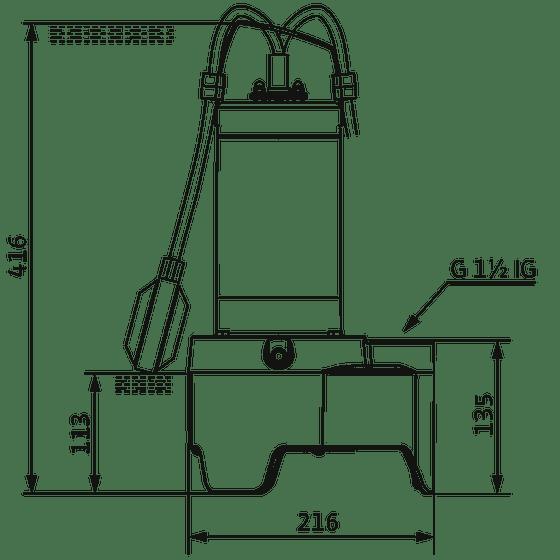 Dimensions mini rexa V04.09/M05-523/A